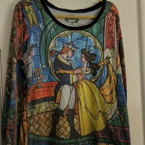 Beauty & the Beat Stained Glass Sweatshirt